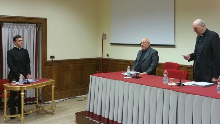 ROMA: Un nou doctor în Teologie