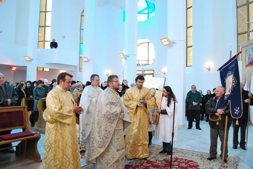 Întreită sărbătoare pentru comunitatea greco-catolică din Gherla