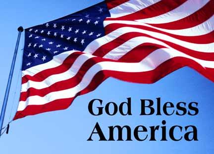 """Curtea Supremă SUA trebuie să decidă dacă este legitimă folosirea invocaţiei """"God bless America"""""""