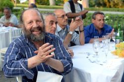 200 de săraci şi imigranţi din Roma au luat cina în Grădinile Vaticanului