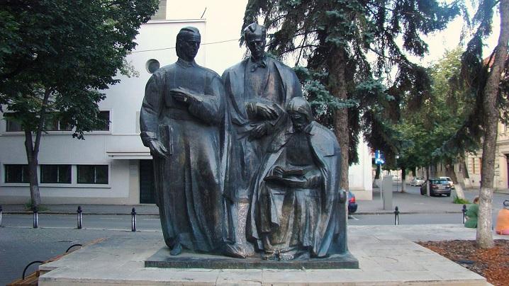 Autorul grupului statuar Școala Ardeleană, un celebru sculptor greco-catolic