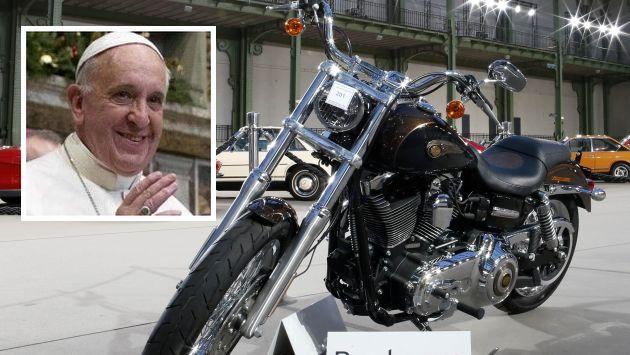 Motocicleta Papei vândută pentru nevoiaşii Romei
