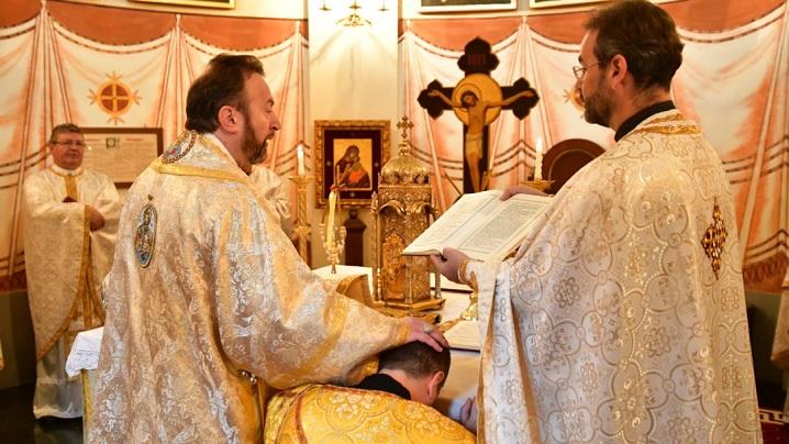 FOTO: Hirotonire de preot la Colegiul Pontifical Pio Romeno din Roma