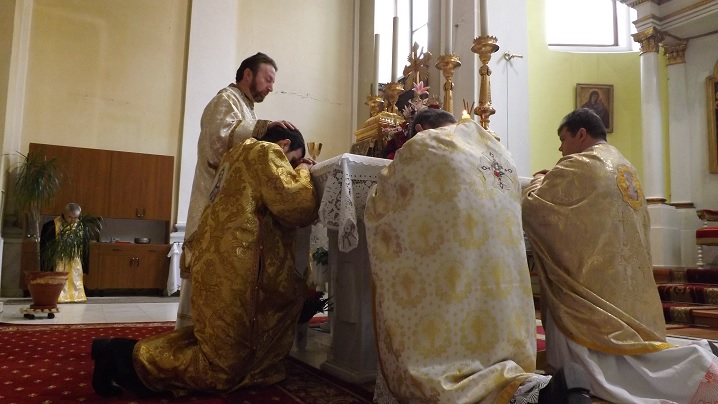 Hirotonire de diacon în Catedrala Blajului