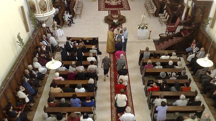 "FOTO: Hramul Catedralei Arhiepiscopale Majore ""Sfânta Treime"" din Blaj"