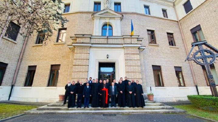 Hramul Colegiului Pontifical Pio Romeno din Roma