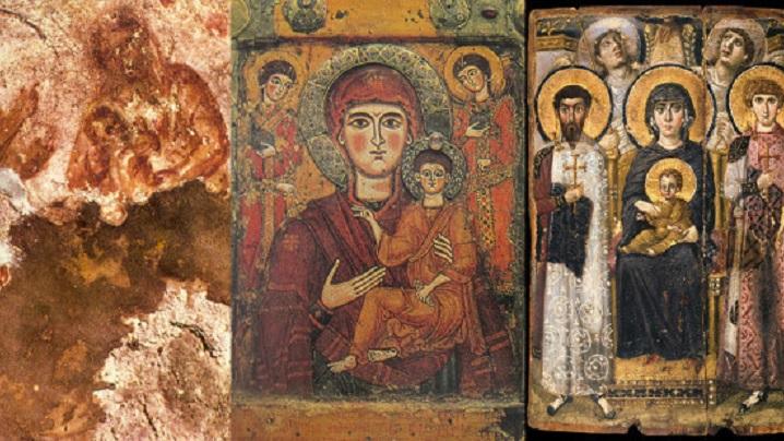 Cele mai vechi icoane ale Fecioarei Maria