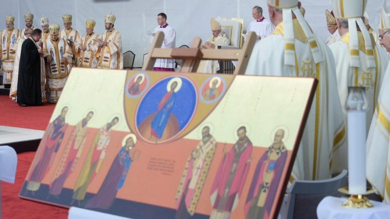 BEATIFICAREA EPISCOPILOR - Un an de la vizita Papei Francisc la Blaj