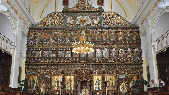 Iconostasul Catedralei din Blaj prezentat de Televiziunea Franceză