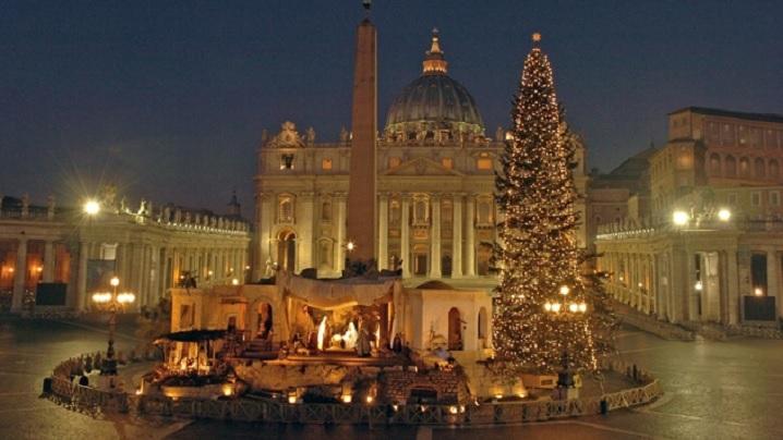 Ieslea și bradul din Piața Sfântul Petru: inaugurare pe 7 decembrie