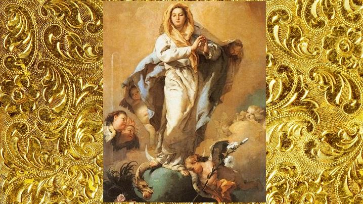 NEPRIHĂNITA ZĂMISLIRE A PREASFINTEI FECIOARE MARIA