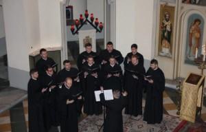 """Glasul Colindelor în Colegiul Pontifical """"Pio Romeno"""" din Roma"""