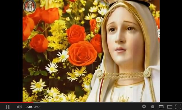Maria, Regina Cerului! Imn dedicat Maicii Sfinte.