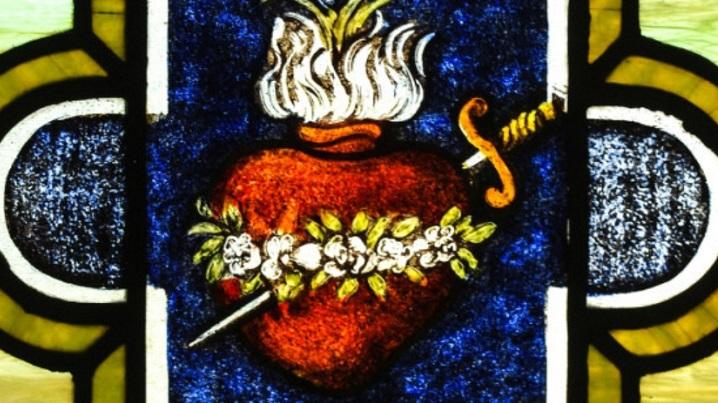 Simbolismul din spatele Inimii Neprihănite a Mariei