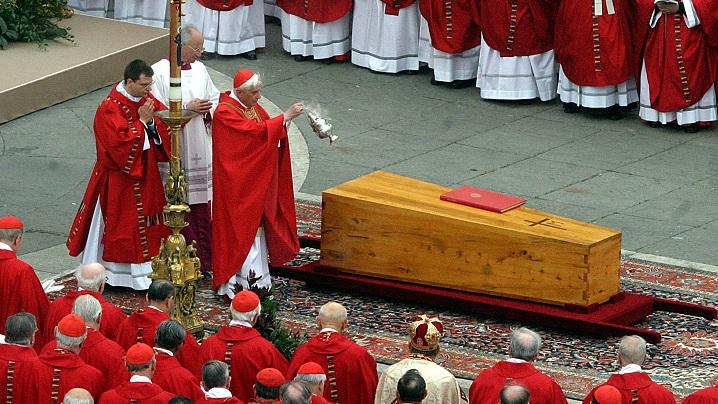 8 aprilie 2005: funeraliile Papei Ioan Paul al II-lea