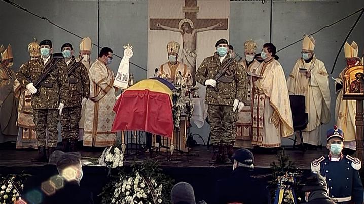 Cuvântul PF Cardinal Lucian la înmormântarea PS Florentin