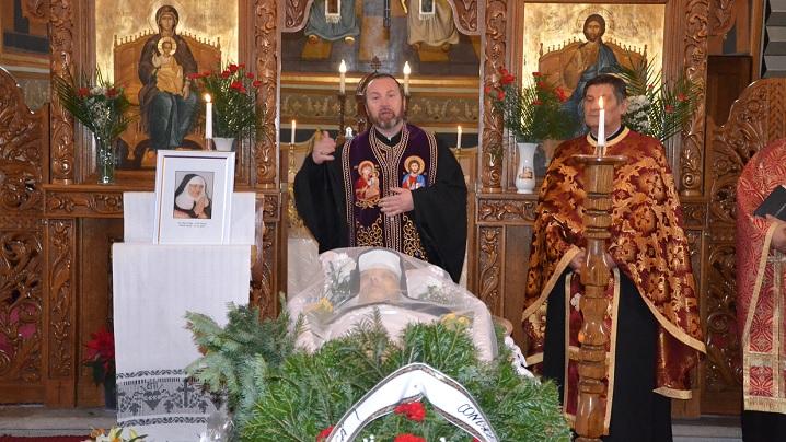 Înmormântarea servei lui Dumnezeu Sora Maria Olga