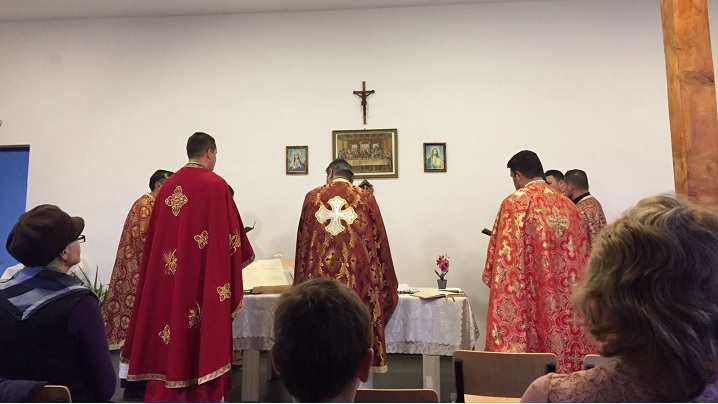 Instalarea noului preot-paroh la Unirea II (Vereșmort)