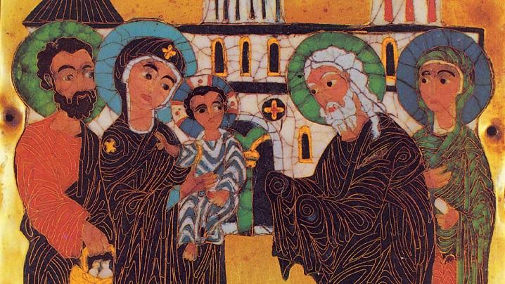 ÎNTÂMPINAREA DOMNULUI NOSTRU ISUS CRISTOS ÎN TEMPLU