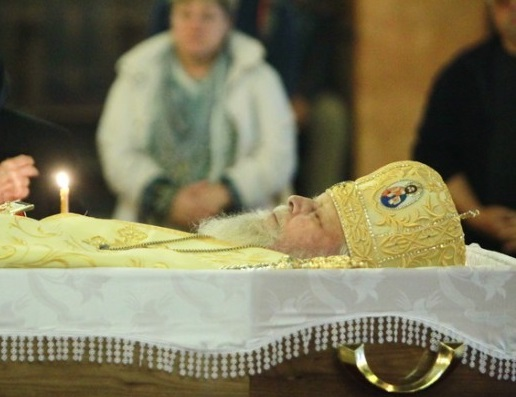 Cuvântul PF Cardinal Lucian la înmormântarea IPS Nicolae Corneanu