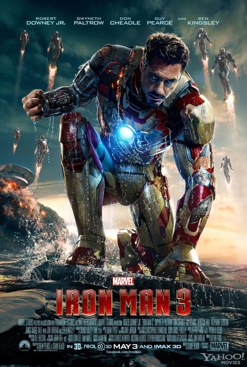 Iroman 3: super-eroi, nicidecum super-oameni
