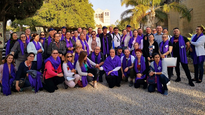 FOTO: Pelerinajul Parohiei Greco-Catolice Române din Paris în Israel