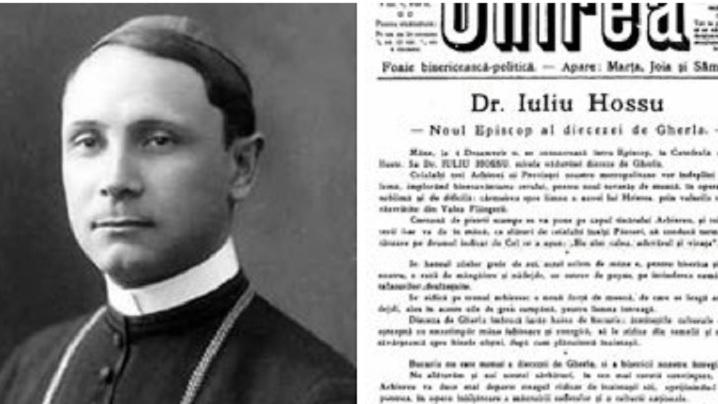 100 de ani de la consacrarea episcopală a lui Iuliu Hossus