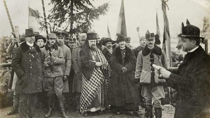 1 decembrie 1918: Discursul Fericitului Episcop Iuliu Hossu la Marea Unire (AUDIO)