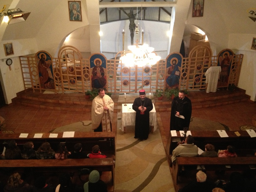 Seară de rugăciune ecumenică în parohia greco-catolică din Jibou