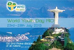 Programul oficial al călătoriei  Papei Francisc la Rio, pentru ZMT