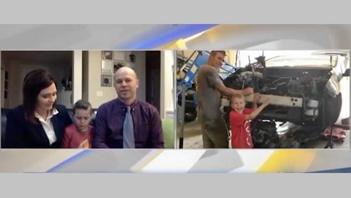 Un copil își salvează tatăl dintr-un accident și atribuie meritul îngerilor