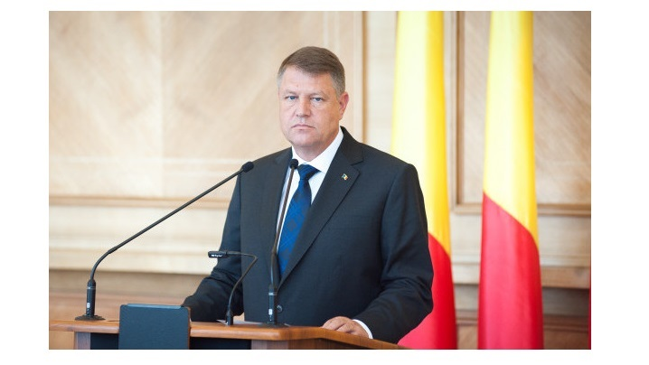 Discursul Președintelui României, domnul Klaus Iohannis, susținut cu prilejul primirii Sanctității Sale Papa Francisc