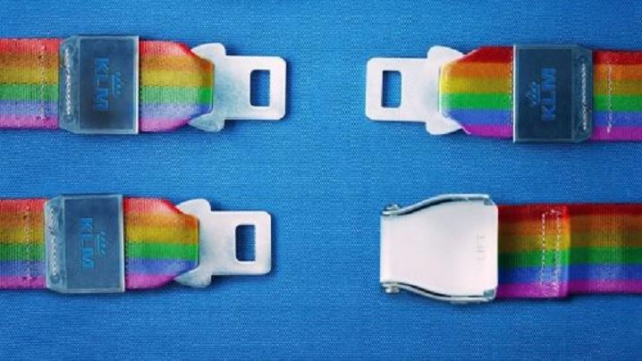 Dorind să sprijine mișcarea homosexuală, KLM Airlines arată fără să vrea lipsa de perspectivă a cuplurilor homosexuale