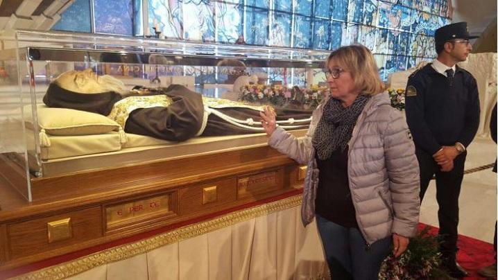Vindecarea miraculoasă prin mijlocirea Sfântului Padre Pio