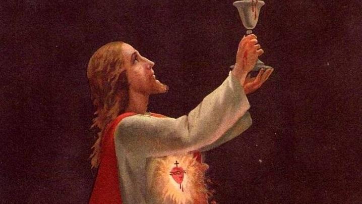 Luna iulie este dedicată cinstirii Preasfântului Sânge al Domnului nostru Isus Cristos