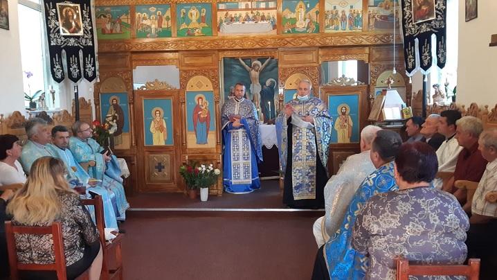 """Celebrarea Hramului Bisericii """"Nașterea Maicii Domnului"""" din Lechința"""
