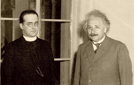Pr. Lamaitre contestat de Einstein
