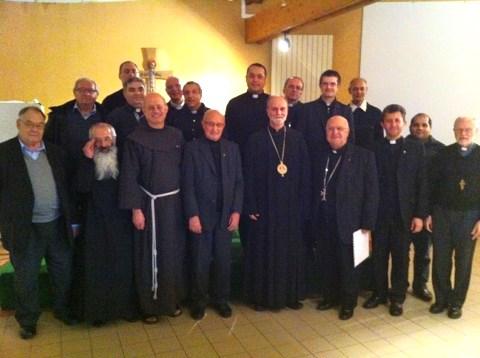 Întâlnirea anuală a preoților catolici orientali din Franța