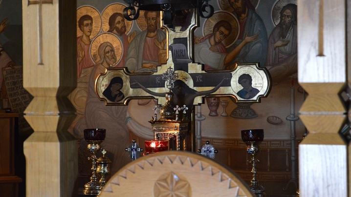 Liturghia Înaintesfinţitelor de vineri seara în săptămâna a VI-a a Postului Mare