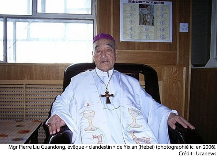 Liu Guandong, episcopul pe care guvernul nu a reușit să-l înduplece