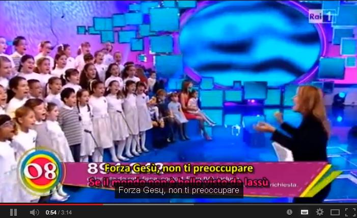 Când copiii îi cântă Pruncului Isus- RAI1