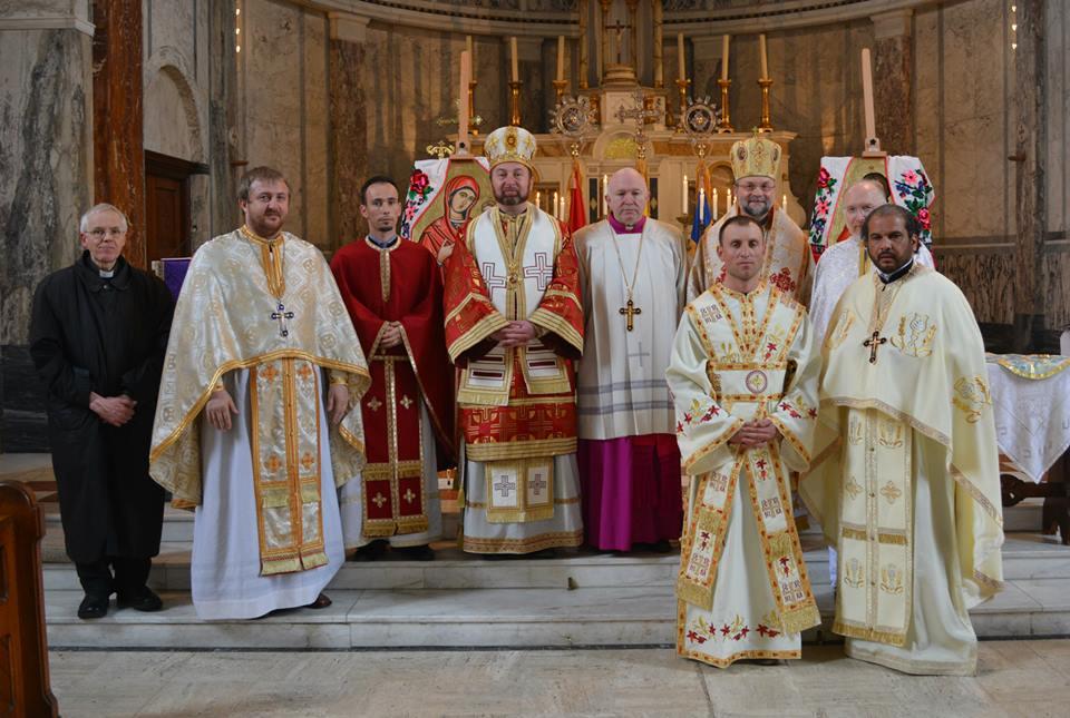 Sărbătoarea hramului la Misiunea Greco-Catolică din Londra