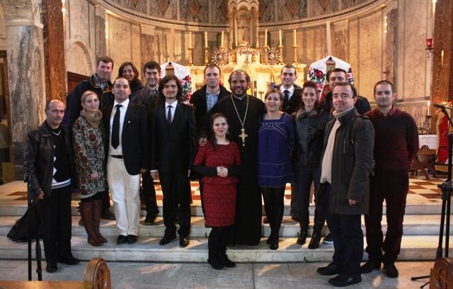 1 Decembrie 2013 la Misiunea Română Unită din Londra
