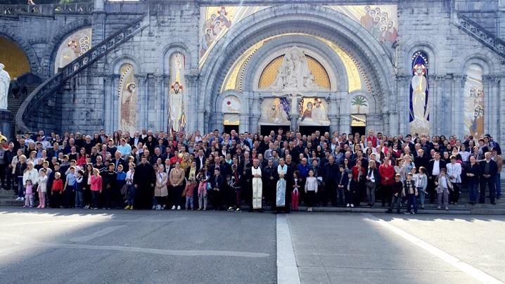 Pelerinajul la Lourdes al Parohiei Greco-Catolice Române din Paris