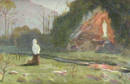 16 iulie 1858: ultima apariţie a Maicii Domnului la Sf. Bernadeta