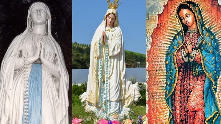 Maica Domnului de la Fatima, Lourdes, Guadalupe... De ce sunt atâtea, doar Fecioara Maria este una?