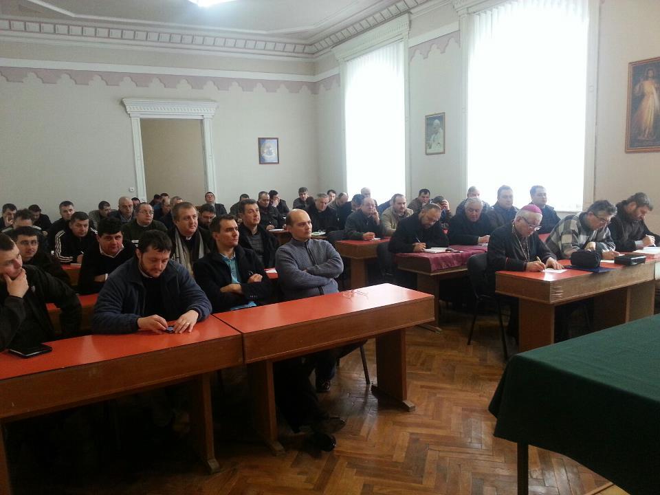 Exerciţii Spirituale  cu clerul Eparhiei de Lugoj