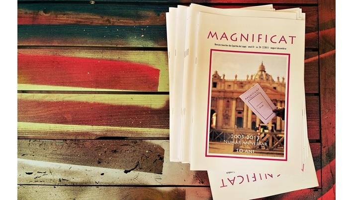 Revista Magnificat a tinerilor din Eparhia de Lugoj a împlinit 10 ani