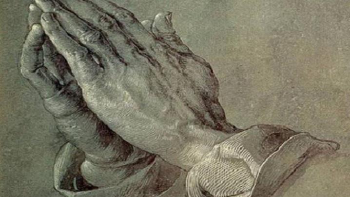 Povestea emoţionantă a mâinilor în rugăciune