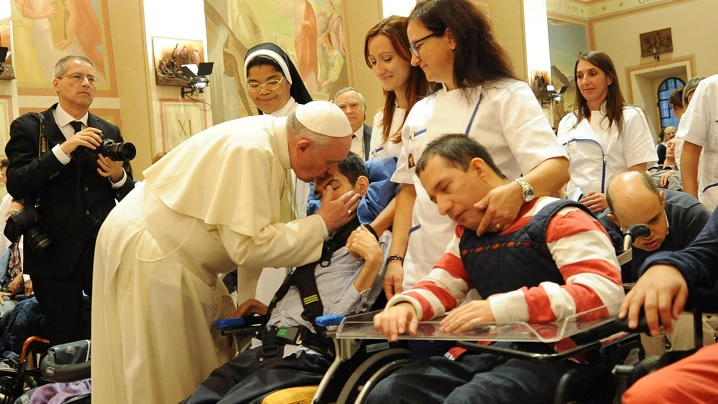 Mesajul Sfântului Părinte Francisc pentru a XXVI-a Zi Mondială a Bolnavului 2018